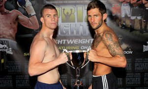 Boxers Weigh In For Prizefighter Lightweights lll