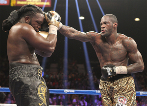 Post Ringside Quotes From Wilder And Stiverne