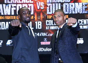 Terence Crawford Focused And Ready For Dulorme