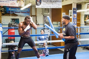 "Steve ""USS"" Cunningham Media Workout, Quotes and Photos"