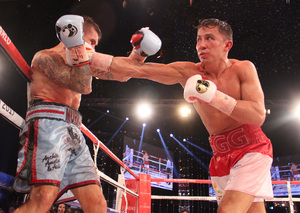 Golovkin Breaks Down Murray,Budler Retains Title