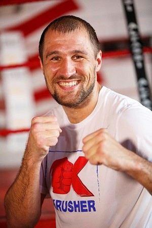 Kovalev Works Out In Miami