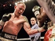 Vasquez dominates Lartey