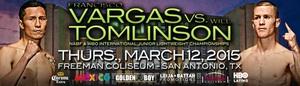 Vargas And Tomlinson Clash In San Antonio