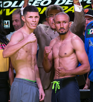 Salido And Martinez Make Weight