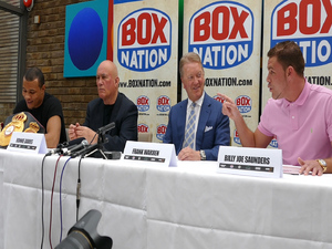 Frank Warren Statement Regarding Chris Eubank Jr