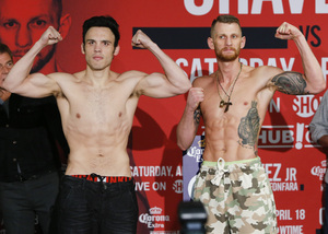 Chavez And Fonfara Weigh In