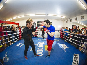 Chavez Jr,Fit And Focused On Fonfara