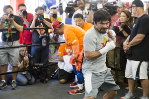 Inside Manny Pacquiao's Training Camp