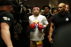 Pacquiao 'Still Loves Boxing'
