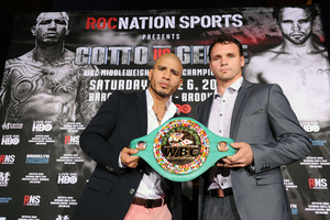 Cotto To Defend Title Against Geale