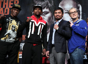Video: Watch The Final Mayweather Jr Vs Pacquiao Press Conference