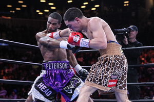 Garcia Holds On To Decision Peterson In Brooklyn
