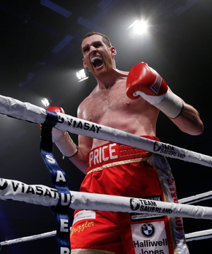 Price To Face Teper For European Title