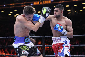 Khan Survives Algieri Challenge, Mayweather Next?
