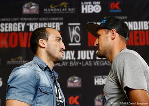 Kovalev And Mohammedi Come Face To Face