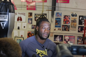 Wilder Delighted To Be Fighting In Birmingham