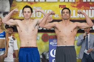 Frampton And Gonzalez Make Weight/Chavez Jr Overweight