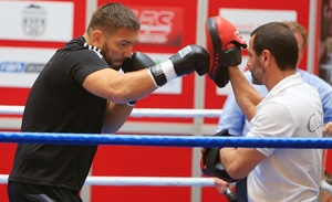 Chagaev And Pianeta Work Out In Magdeburg