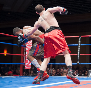 DeLomba And Cowart Battle At Foxwoods