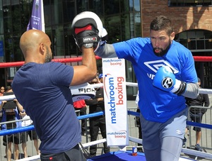 'Hollywood Experience Inspires Bellew