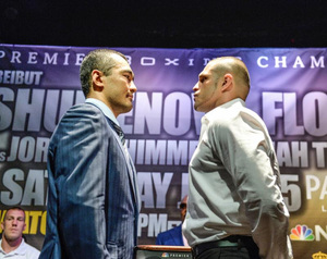 Shumenov And Flores Fully Prepared For Battle
