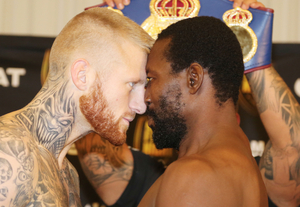 Bust Up At Nielsen Vs Adamu Weigh In