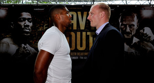 Joshua And Cornish Come Face To Face