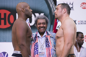 Weigh In Quotes And Pics From Vegas