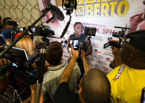 Andre Berto Is A Hungry Fighter