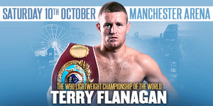 Flanagan To Make First Title Defence On 10th October