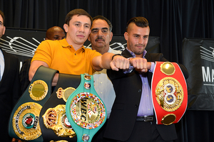 Golovkin And Lemieux Lands In New York