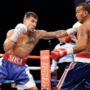 Sosa Brings Big Power To Super Featherweight