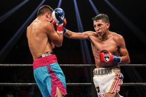 Barrios Takes On 'Popeye' In Corpus Christi
