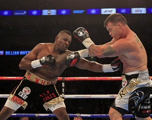 Whyte Vs Lewison Heats Up