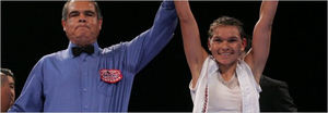 Lopez Claims Vacant World Strawweight Title