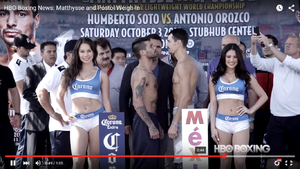 Matthysse And Postol Make Weight