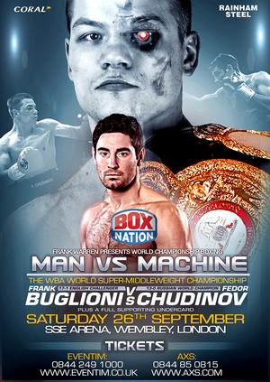 Heroic Effort From Buglioni As Chudinov Breaks Him Down Over 12