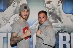 Eggington Goes the Distance Against Gritty Dale Evans