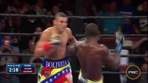 Uzcategui Crushes Jackson In IBF Eliminator