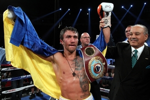 Lomachenko Becomes Two weight Champ