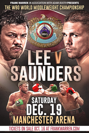 Lee Vs Saunders To Collide On December 19