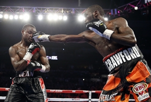 Crawford Stops Jean In 9