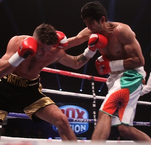 Singh Takes Out Whiting On Pro Debut