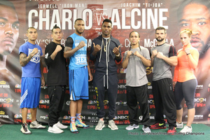 Charlo And Alcine Weigh In
