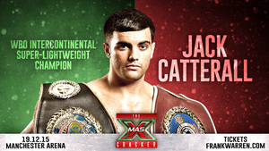 Catterall Eyes World Title Glory