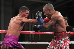Galeano Out Points Cameron In Brooklyn