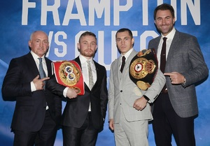 First England/Ireland Battle Announced For Quigg Vs Frampton Undercard