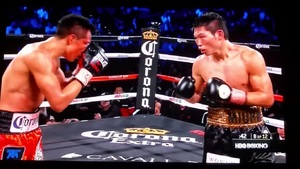 Francisco Vargas back with a win.