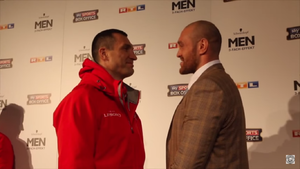 Klitschko And Fury Weigh In